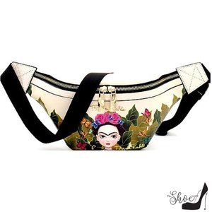 Authentic Frida Kahlo Belt Bag Fannypack